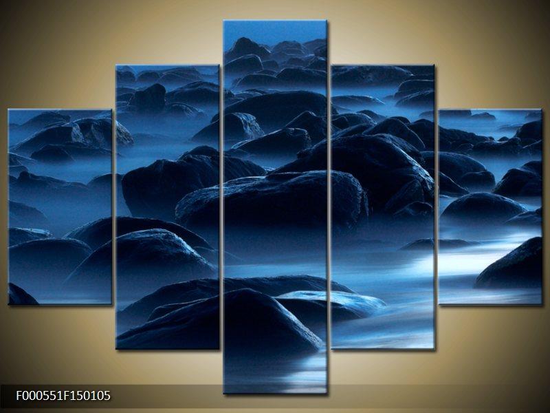 Viacdielny moderný obraz päťdielny