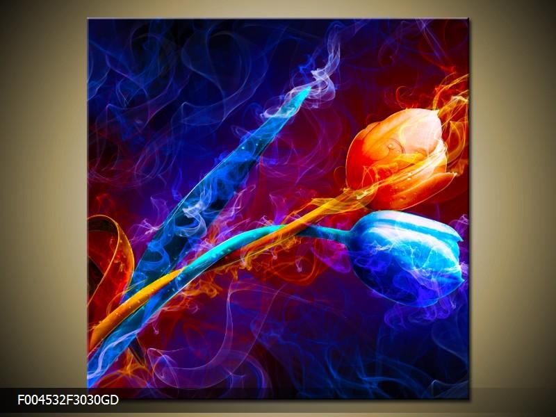 Sklenený obraz 30x30 cm