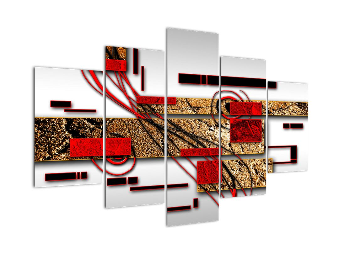 Moderný obraz - abstrakcie