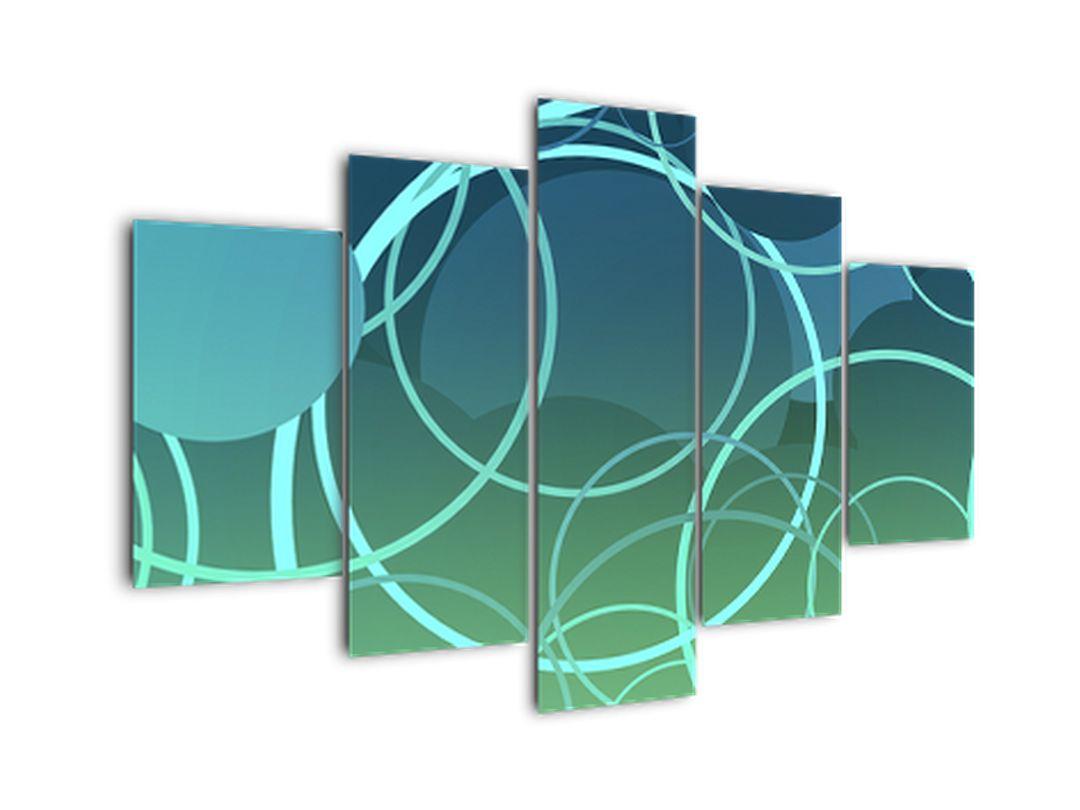 Kruhy - abstraktný obraz